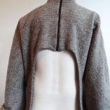 Winterjas achterkant dicht