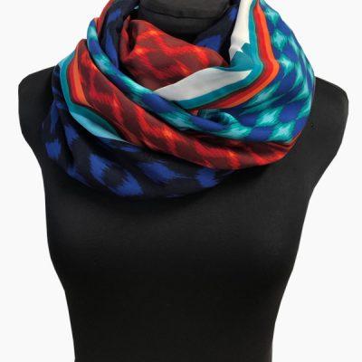 sjaal strepen print