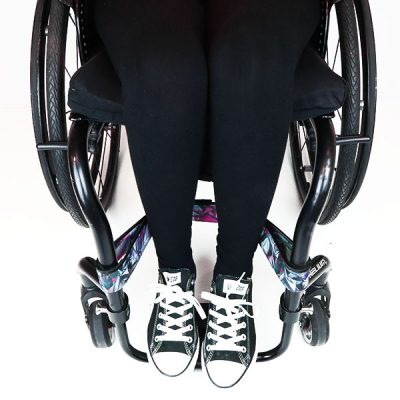 Wheelchair calf strap
