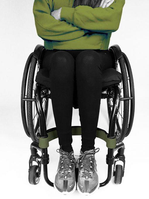 Calfstrap wheelchair